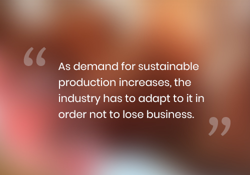 quote about sustainable food production