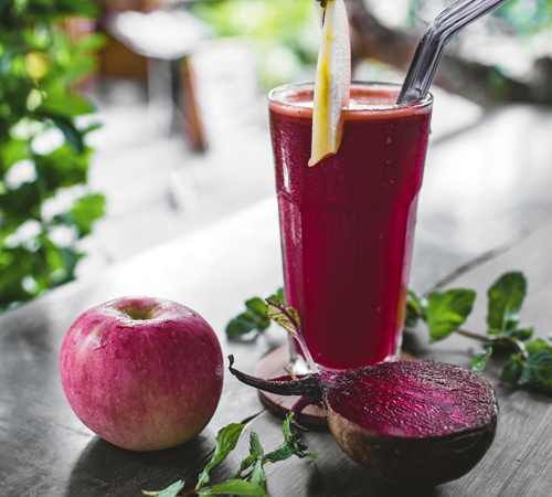 smoothie with immune ingredients