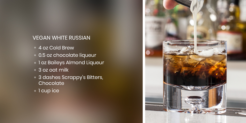 vegan white russian recipe