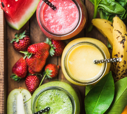 sustainable ingredient smoothie