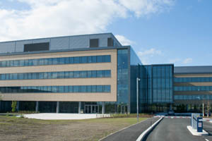 Kerry in the 2010s. The exterior of the Global Technology and Innovation Centre in Naas, Ireland.