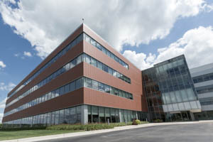 Kerry in the 2000s. The exterior of the Global Technology and Innovation Centre in Beloit, Winconsin.